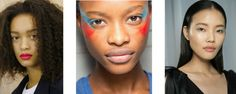 How to wear #ss17 brightest shades. #makeup #trends