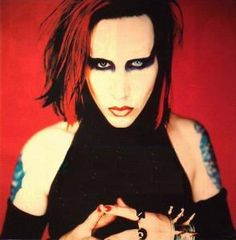 Image result for marilyn manson long hard road out of hell