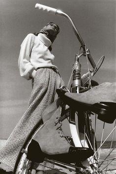 Photographer Jeanloup Sieff For Harper's Bazaar, 1965