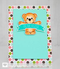 Stamping & Sharing: July Release Teaser Time Day 2 | bear hugs