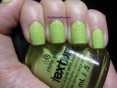China Glaze In The Rough follow link for swatches of the whole collection