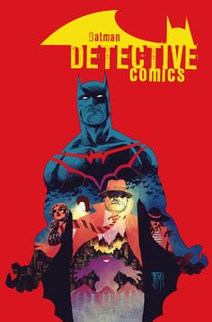With his run on DETECTIVE COMICS ending this September, the writer talks about the finale, working with Francis Manapul, and what's next.