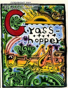 G Grasshopper – Realizations: The Walter Anderson Shop   Alphabet ...
