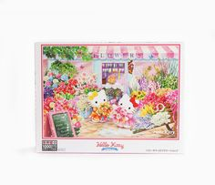 fa7d4cae96 Hello Kitty 1000 Mini Pce Jigsaw Puzzle  Flowers