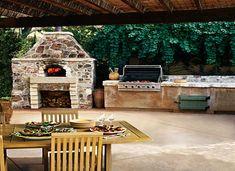 Outdoor Kitchen Design Ideas | housegardendesign