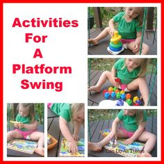 we can do all things- Activities for a platform swing