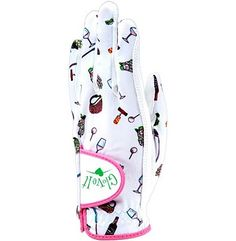 Glove It Women's Golf Glove (Nine & Wine Print)