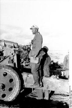 Afrika Korps. Artillerie.