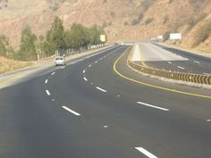 way to Khewra Salt Mines Pakistan