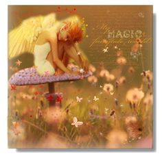 My Magic Fairytale World by craftygeminicreation on @Polyvore featuring art, autumn, fantasy, fairy and fairytale