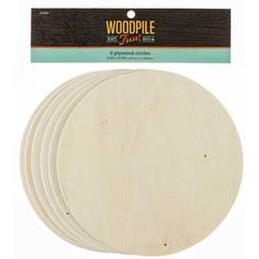 "6 1/2"" Plywood Circles 