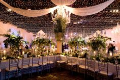 """Way too much for the eye to handle but I love the """"Starlight"""" Lighting on the ceiling"""