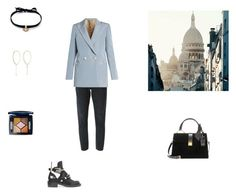 """Без названия #710"" by yanapastukh ❤ liked on Polyvore featuring Citizens of Humanity, Blazé Milano, Balenciaga, Miu Miu, DANNIJO and Grace Lee Designs"