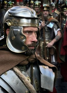 Photograph Roman Soldiers York by Lewis Outing