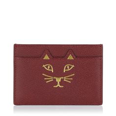 FELINE CARD HOLDER - Charlotte Olympia - $195 USD