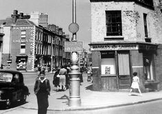 Portobello, Dublin - Wikipedia, the free encyclopedia Dublin Street, Dublin City, Old Pictures, Old Photos, Vintage Photos, Picture Places, Ireland Homes, Photo Engraving, Dublin Ireland