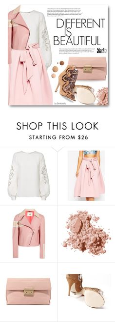 """Street Style"" by beebeely-look ❤ liked on Polyvore featuring Oscar de la Renta, Fendi, Bobbi Brown Cosmetics, Cullen, LYDC and Lumière"