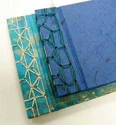 japanese stab binding patterns #bookbinding