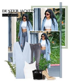 """Duster Jacket: Kylie Jenner"" by beg1214 ❤ liked on Polyvore featuring ASOS, J Brand, Topshop, Givenchy and Gianvito Rossi"