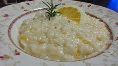 Risotto med citron och ingefära #Recept #Italienskt