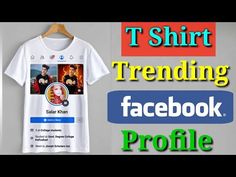 T Shirt Facebook Profile Trending Picture Editing Tutorial || Salar Tutorial - YouTube