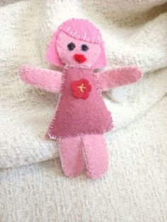 Felt Dolly Pin, a small project, by rowena murillo