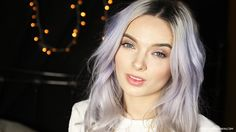 My Pale Skin: So, I accidentally dyed my hair purple...