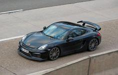 Foto spia Porsche Cayman GT4