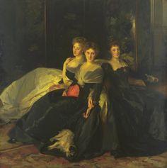 John Singer Sargent 'The Misses Hunter', 1902