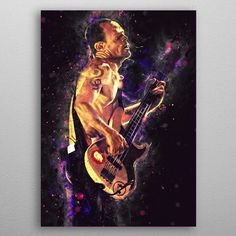 Flea by Abraham Szomor | metal posters - Displate