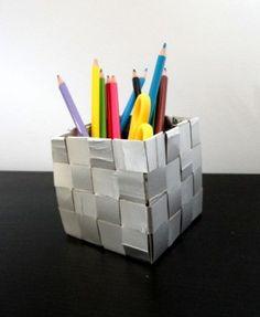 Lapicero de papel