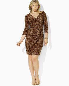 ralph lauren leopard dress - Bing images
