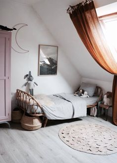 We all know how difficult it is to decorate a kids bedroom. A special place for any type of kid, this Shop The Look will get you all the kid's bedroom decor ide Kids Bedroom Designs, Kids Room Design, Casa Kids, Deco Kids, Teenage Room, Attic Rooms, Home And Deco, My New Room, Bedroom Decor
