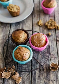 Muffin vegani alla banana