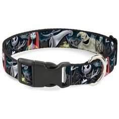 BuckleDown Nightmare Before Christmas 4Character Group/Cemetery Scene Disney Breakaway Plastic Clip Collar NarrowSmall >>> Find out more about the great product at the image link.-It is an affiliate link to Amazon. #CatCollars