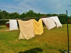 Passive Solar Laundry Line - garden gloves - Manual tools are my preference in my daily chores #TaylorMadeHomestead