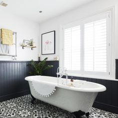 Wall Panelling Ideas For Every Room – From Traditional To with regard to Bathroom Panelling Colour Ideas - Best Home & Party Decoration Ideas Wood Panel Bathroom, Bathroom Wall Coverings, Bathroom Paneling, Wall Panelling, Wood Wainscoting, Wainscoting Styles, Upstairs Bathrooms, Downstairs Bathroom, Small Bathroom
