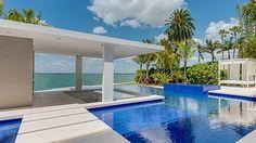 Miami Luxury Villa Decor Pool Rental Los Angeles Celebrity Home Travel