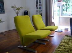Artifort 'Concorde' Chairs In A Customers' Tasteful Living Room