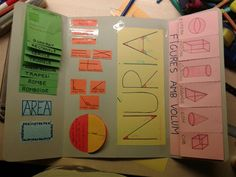 Interior lapbook geometria