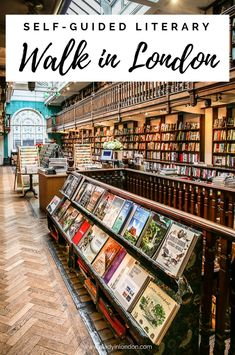 This London literary walk is an independent book crawl through the city center. From beloved bookstores to important places in the city's history, it will take you on a journey both literally and metaphorically. There's a map, too.