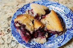 The best blackberry cobbler recipe ever! My mom and I make this all the time, and it is amazing.