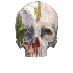 In the *Spirit* of the season. Roglio Manzo Tanatos XLIV x Oil and Mixed media on Canvas 2018 Mixed Media Canvas, Skull, Oil, Seasons, Sculpture, Contemporary, Halloween, Spirit, Photography