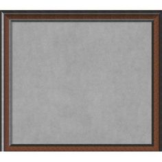 """Darby Home Co Framed Magnetic Memo Board Size: 33"""" H x 37"""" W x 1.5"""" D"""