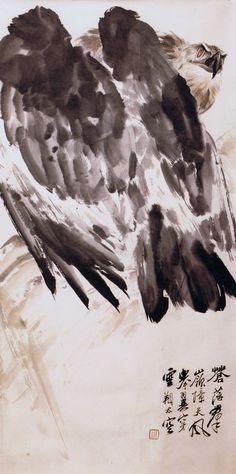 Eagle, by Liu Jiyou  刘继卣 (1918-1983)