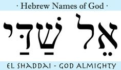 » Hebrew Names of God