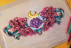 sailor moon tattoo sketch kawaii!