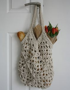 Crochet String Bag....Tales from a Happy House | The 8th Gem