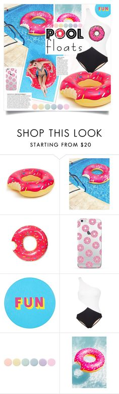 """DONUT CARE."" by fairouze on Polyvore featuring interior, interiors, interior design, home, home decor, interior decorating, Anja, Lisa Perry, Araks and Deborah Lippmann"