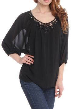 Ramona Blouse. Would look cuter with white pants